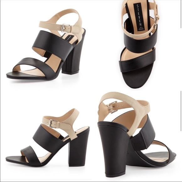 c9ee4afb45f Steven by Steve Madden Carisa Leather Sandal. M 5be8c43e12cd4afed11ae5e3